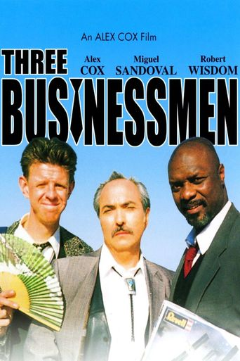 Three Businessmen Poster