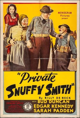Private Snuffy Smith Poster