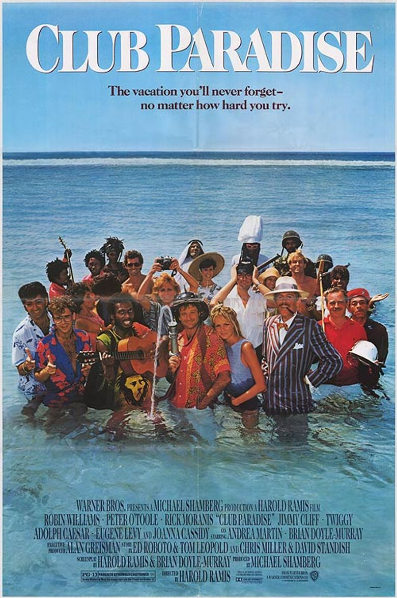 Club Paradise Poster
