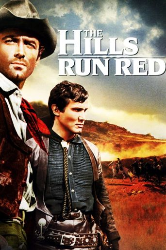 The Hills Run Red Poster