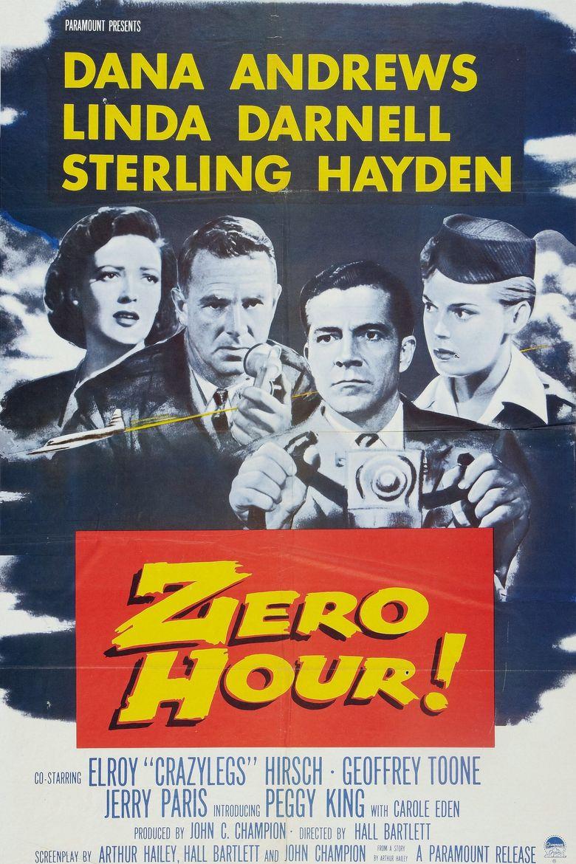 Zero Hour! Poster