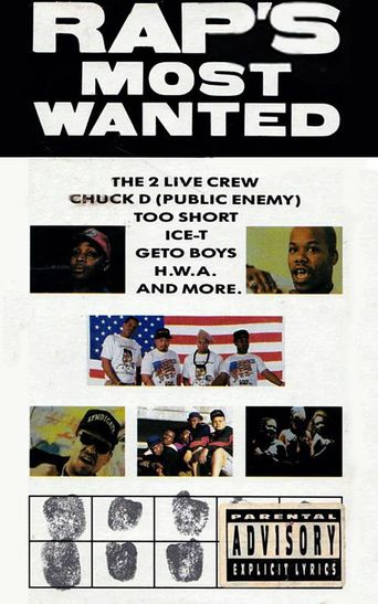 Rap's Most Wanted Poster
