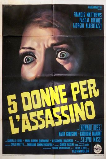 Five Women for the Killer Poster