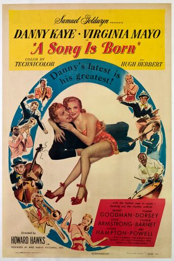 A Song Is Born Poster