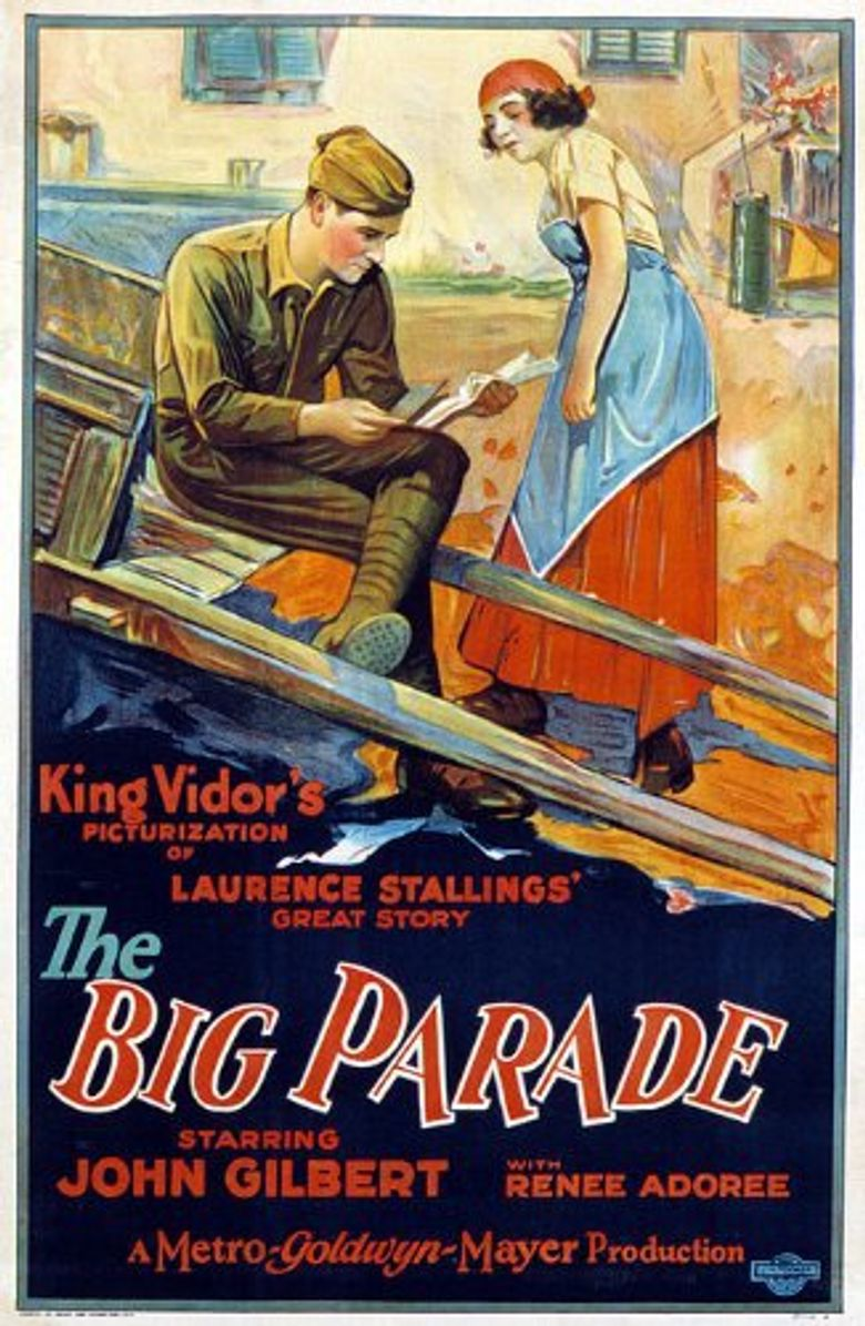 The Big Parade Poster