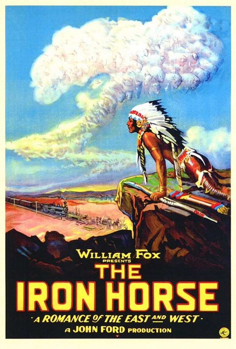 The Iron Horse Poster