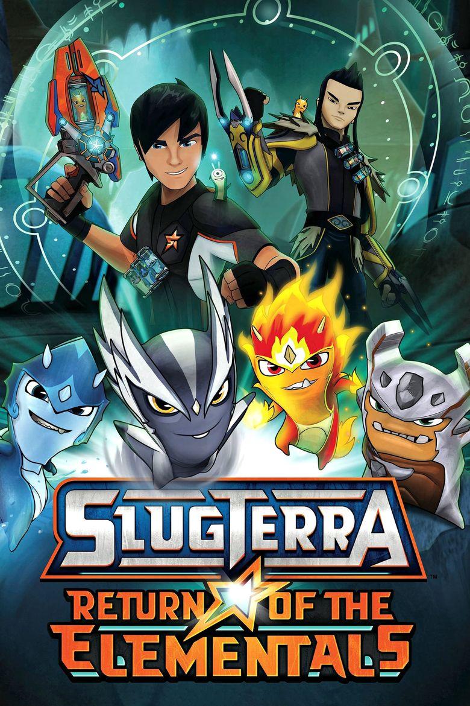 SlugTerra: Return of the Elementals Poster