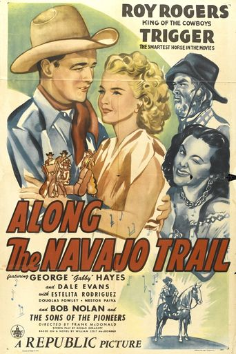 Along the Navajo Trail Poster