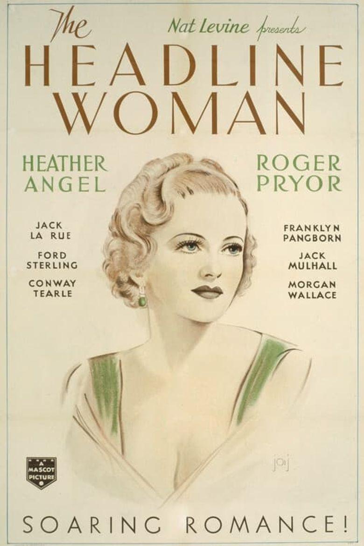 The Headline Woman Poster