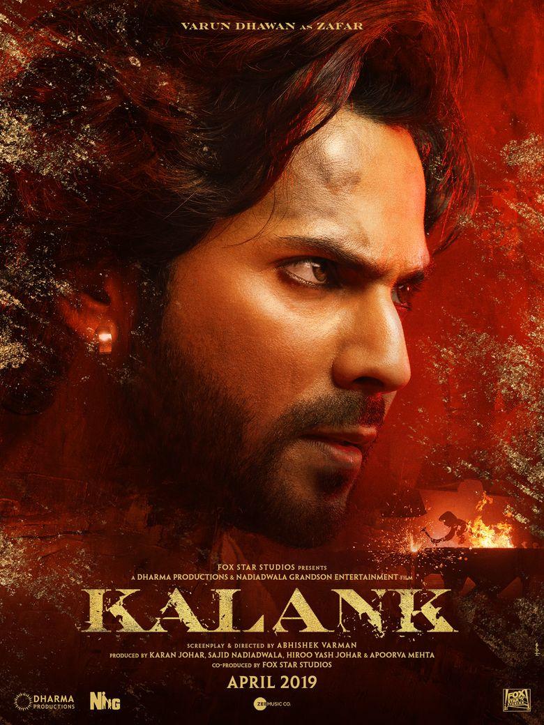 Kalank Poster