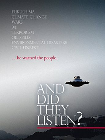 And Did They Listen? Poster