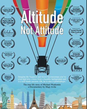 Altitude Not Attitude Poster