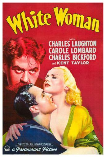 White Woman Poster