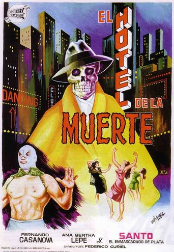 Santo in the Hotel of Death Poster
