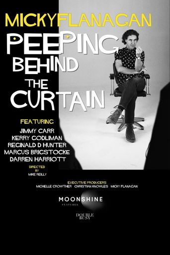 Micky Flanagan: Peeping Behind the Curtain Poster