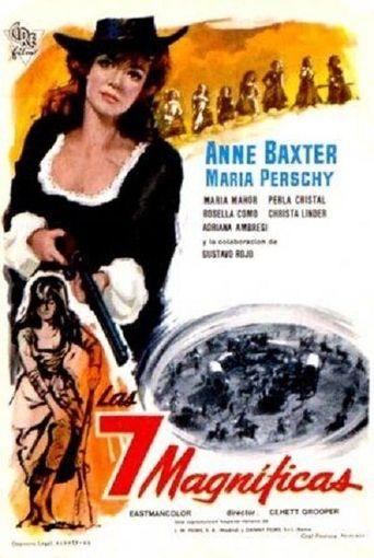 Seven Vengeful Women Poster