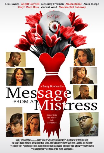 Message From A Mistress Poster