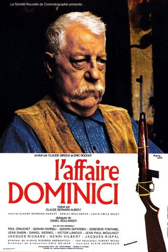The Dominici Affair Poster