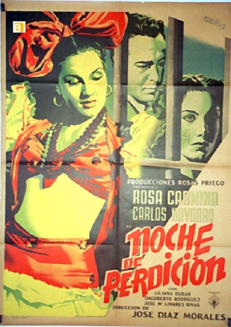 Noche de perdición Poster