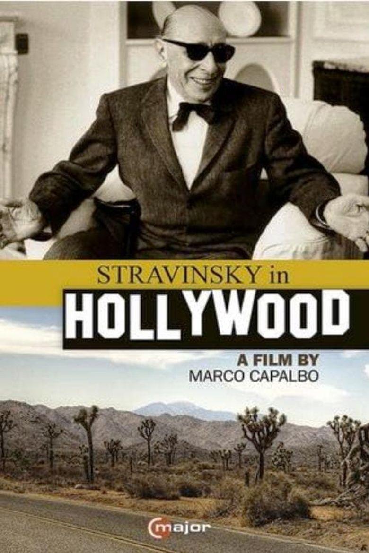 Stravinsky in Hollywood Poster
