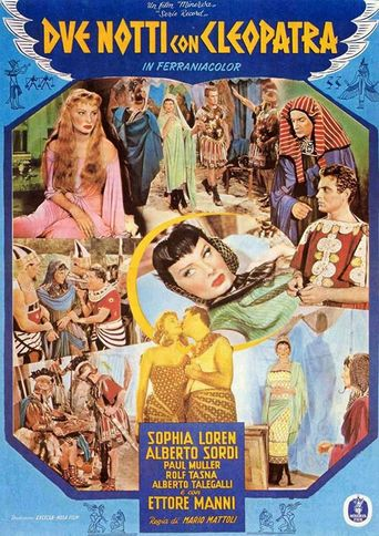 Two Nights with Cleopatra Poster