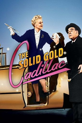The Solid Gold Cadillac Poster
