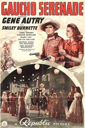 Gaucho Serenade Poster