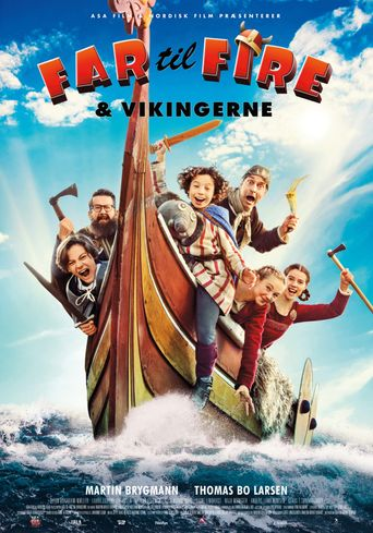 FATHER OF FOUR AND THE VIKINGS Poster