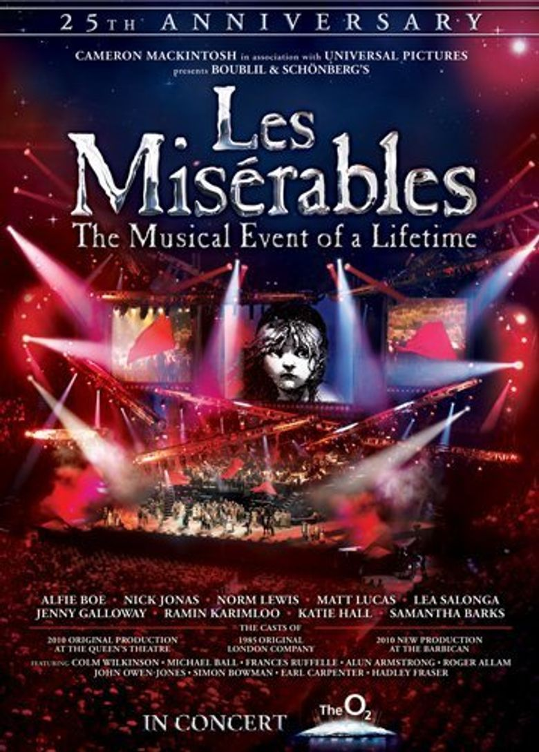 Les Misérables: The 25th Anniversary Concert Poster