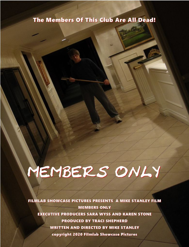 Members Only Poster