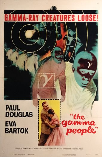 The Gamma People Poster