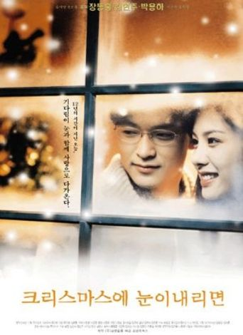 If It Snows on Christmas Poster