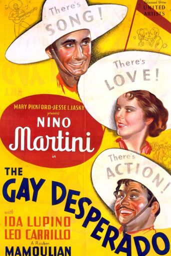 The Gay Desperado Poster