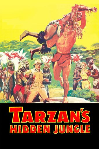 Tarzan's Hidden Jungle Poster