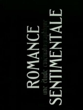 Romance sentimentale Poster