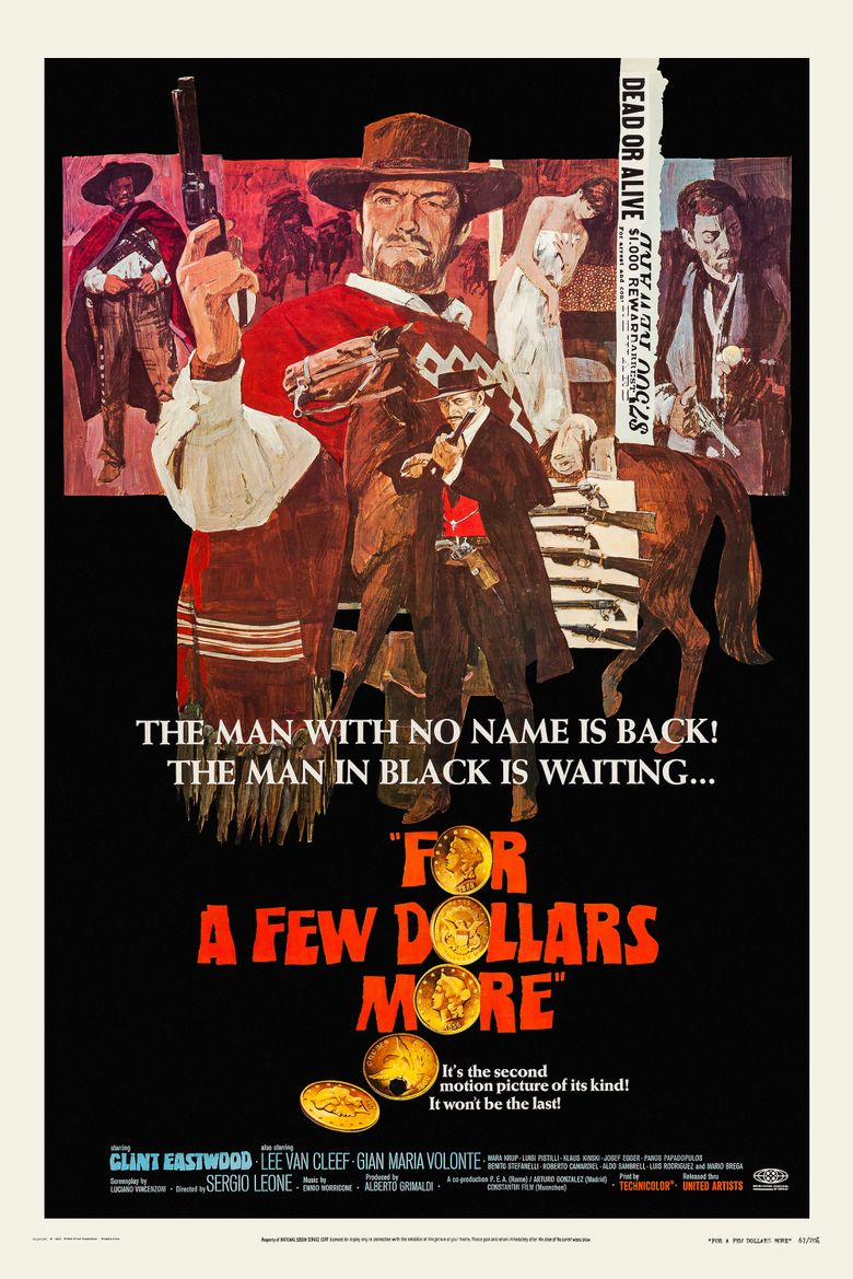 For a Few Dollars More (1965) - Watch on Prime Video, Starz