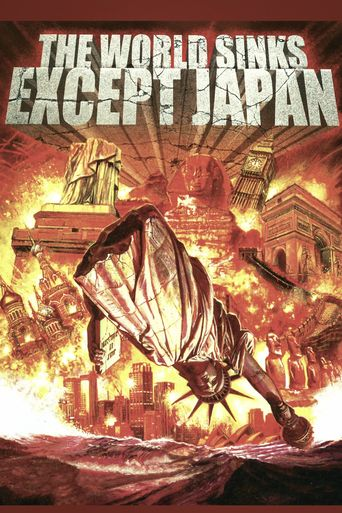 The World Sinks Except Japan Poster