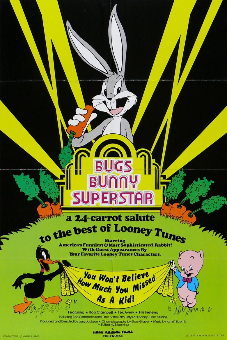 Bugs Bunny: Superstar Poster
