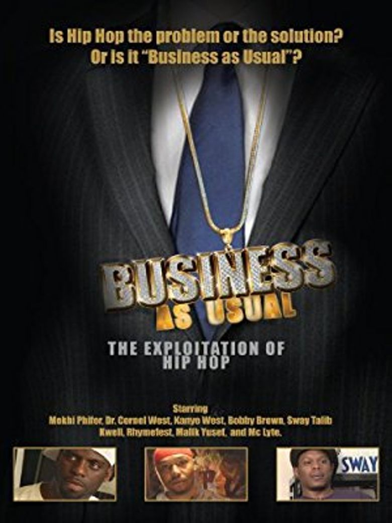 Business as Usual: The Exploitation of Hip Hop Poster