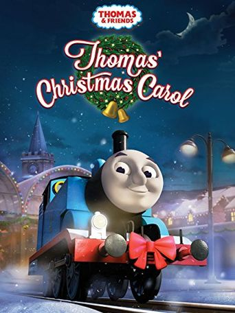 Thomas & Friends: Thomas' Christmas Carol Poster