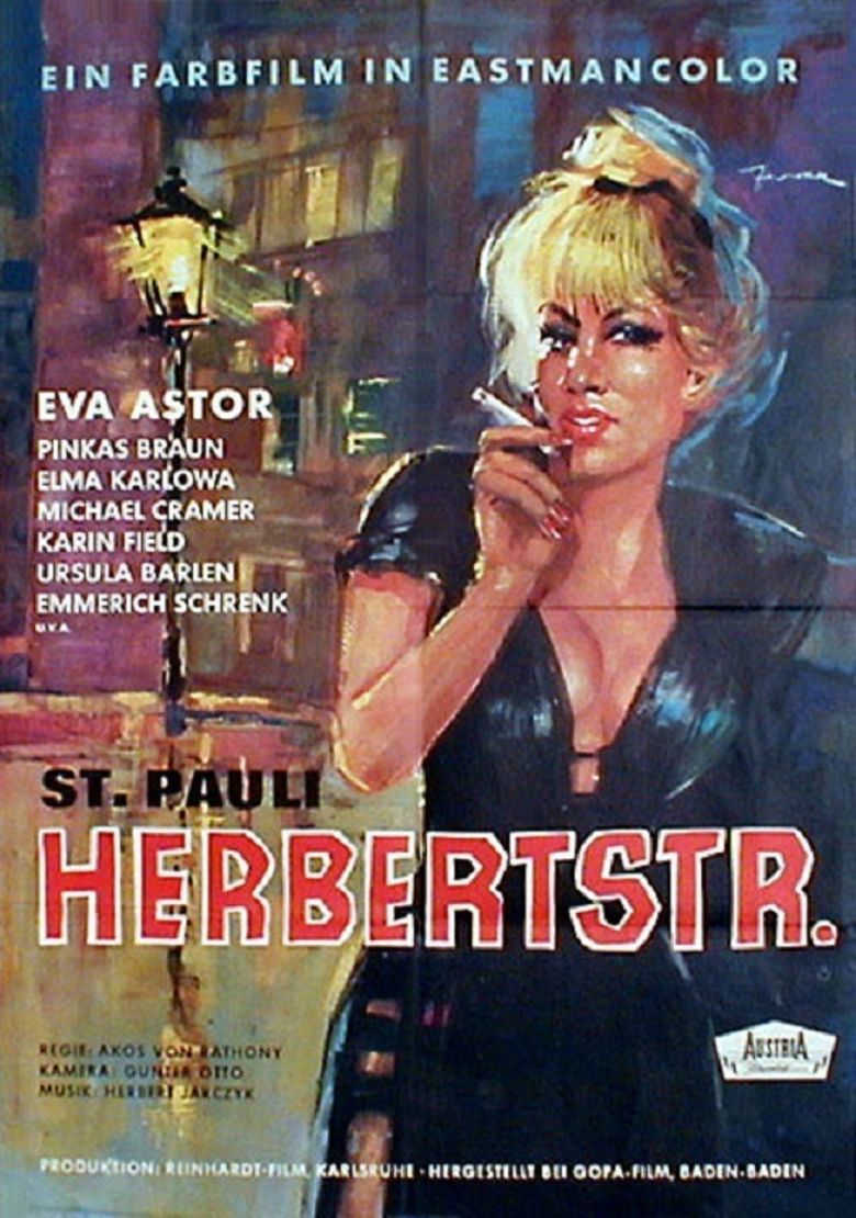 St. Pauli Herbertstraße Poster