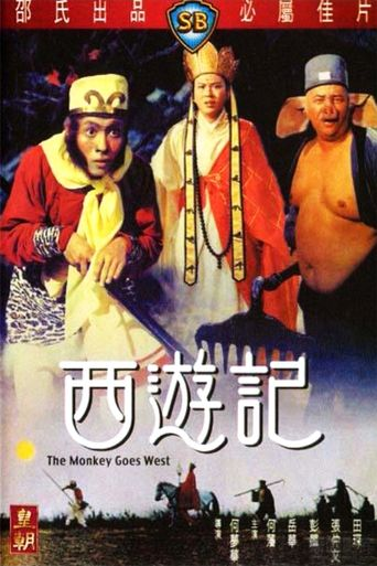 The Monkey Goes West Poster