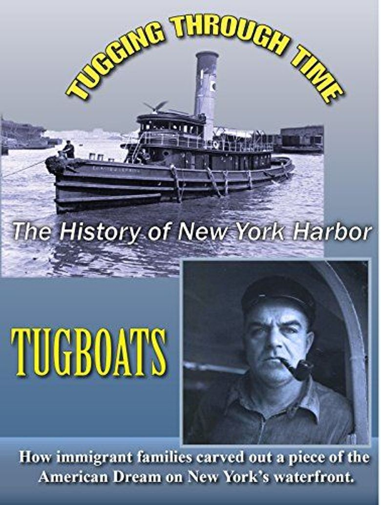 Tugging Through Time: New York Harbor Tugboats Poster