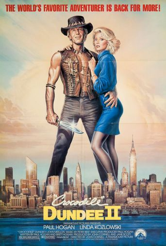 Watch Crocodile Dundee II