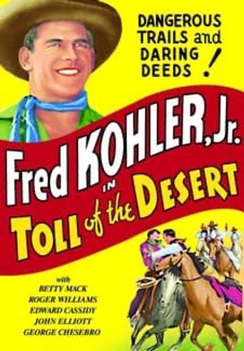 Toll of the Desert Poster