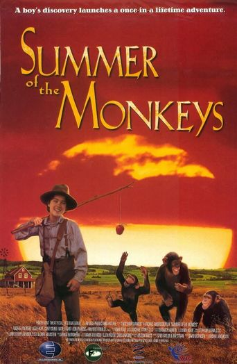 Summer of the Monkeys Poster