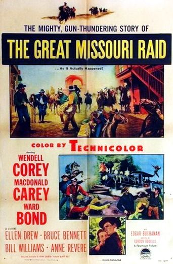 The Great Missouri Raid Poster