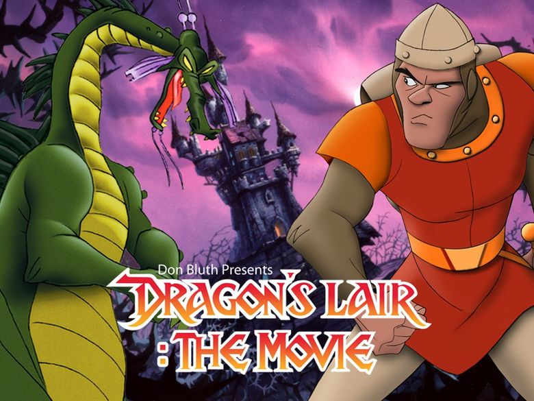 Dragon's Lair: The Movie Poster