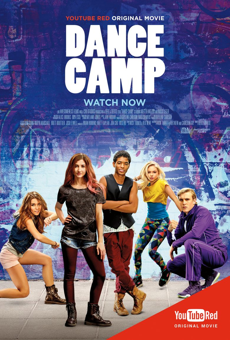 Dance Camp Poster