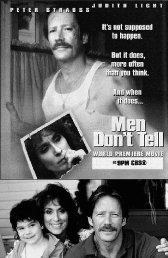 Men Don't Tell Poster